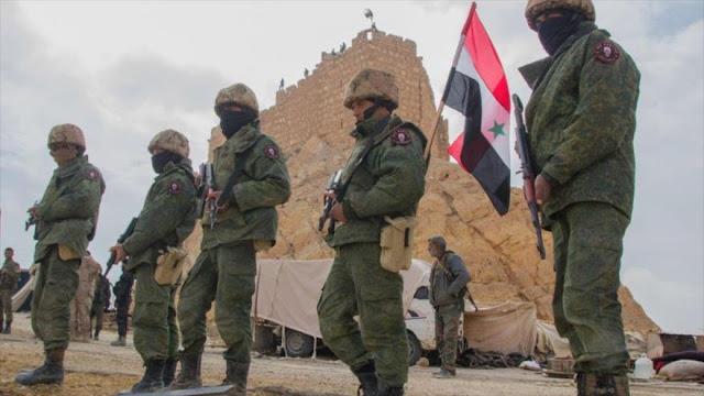 Ejército sirio ataca a rebeldes en represalia por ataque de EEUU