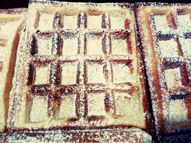 Gofry twarogowe waniliowe gofry z bialym serem gofry z twarogiem gofry serowe