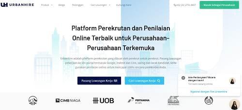 Situs Urbanhire.com