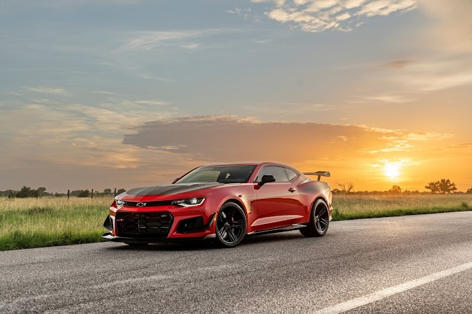 """1,000 hp Chevrolet Camaro dubbed """"The Exorcist"""""""