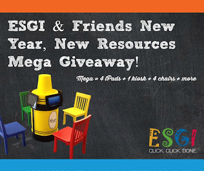 ESGI & Friends New Year, New Resources Mega Giveaway!