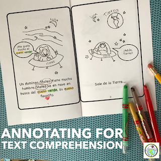 Annotating For Greater Text Comprehension in World Language Classes