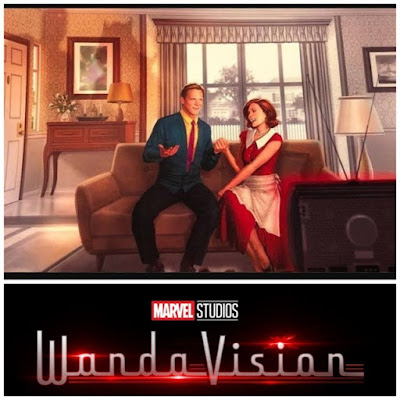 Scarlet Witch and Vision in Marvel's WandaVision
