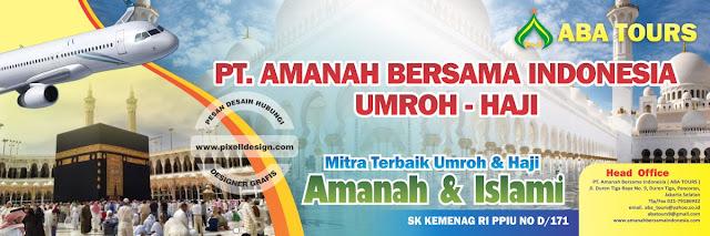 Iklan Banner Spanduk Umroh Haji
