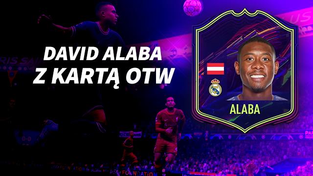 David Alaba karta OTW FIFA 22