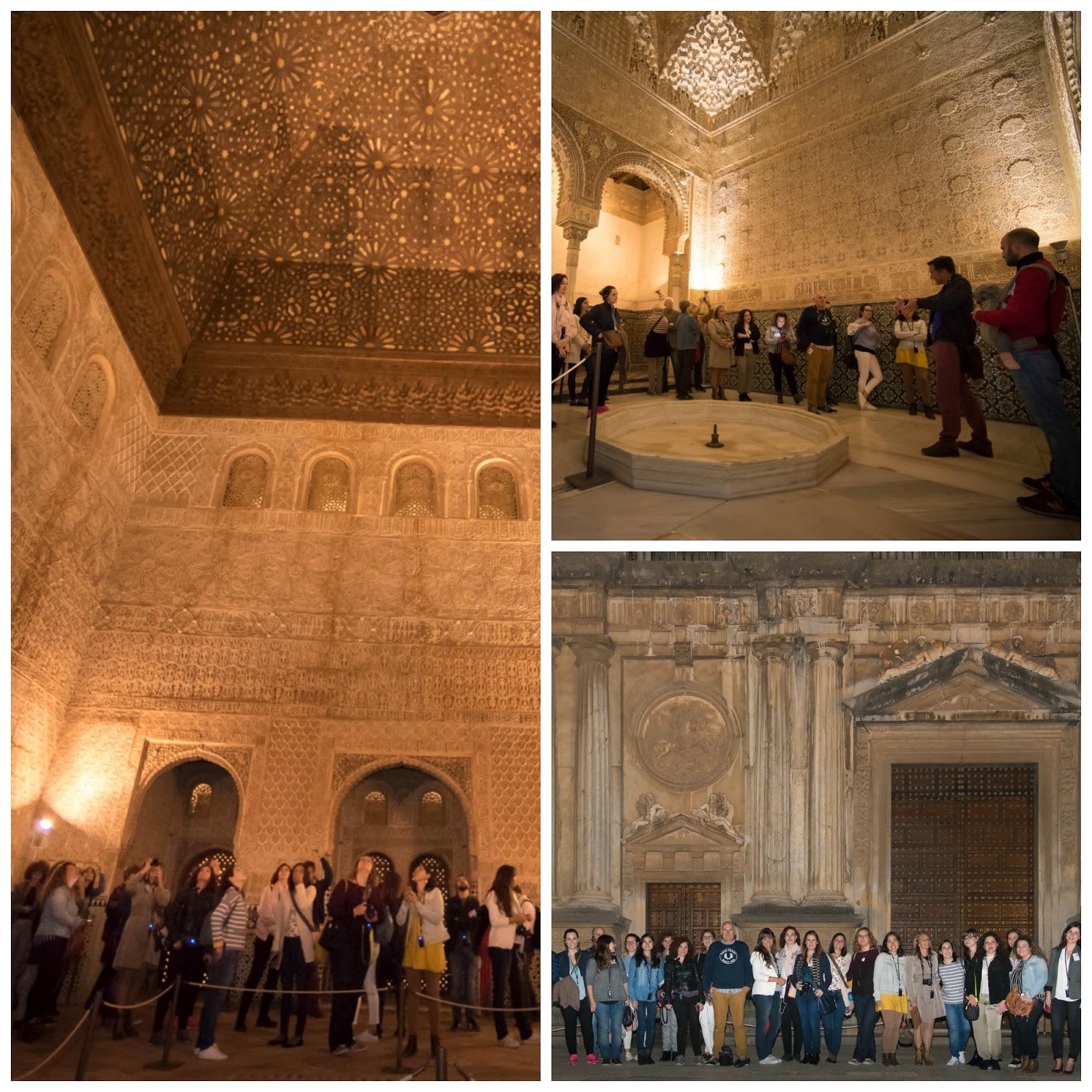 Visitar la Alhambra de noche