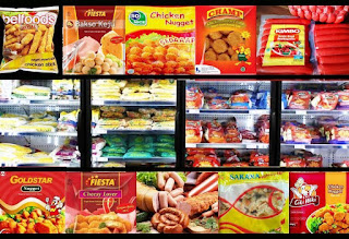Pusat grosir makanan beku Depok