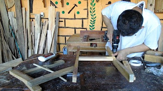Armando las estructura de silla