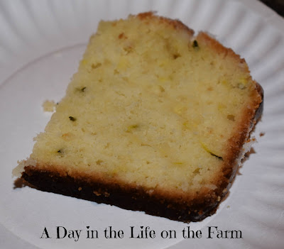 Slice of Lemon Zucchini Bread