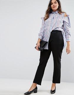 blusas para gorditas modernas