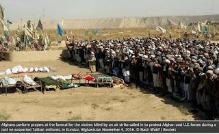 Varios soldados afganos mueren en un ataque de EE.UU.