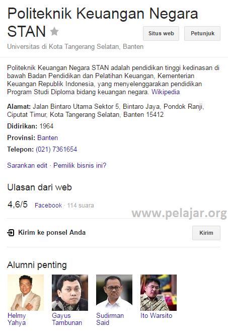 PKN STAN - Informasi seputar sekolah ikatan dinas