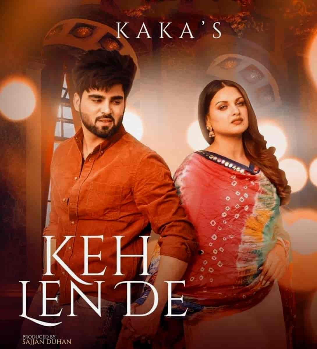 Keh Len De Punjabi Song Image Features Inder Chahal & Himanshi Khurana