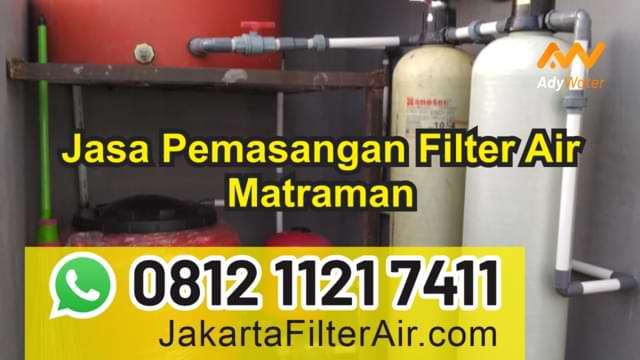 jasa filter air matraman