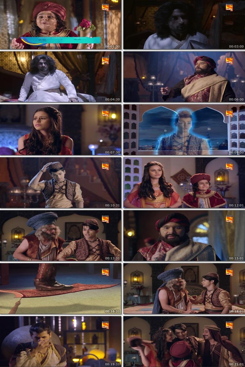 Screenshots Of Hindi Show Aladdin – Naam Toh Suna Hoga 2019 Episode 268 300MB 720P HD