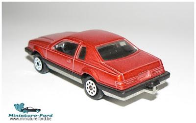 Majorette, Ford Thunderbird
