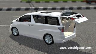 Mod Mobil Toyota Alphard V2 By Nanonanoid Gudang Livery Skin Dan Mod Bus Simulator Indonesia