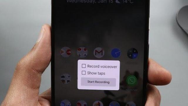 Screen Recorder Google Pixel