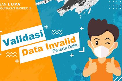 Informasi Validasi Data Invalid Peserta Didik SMA Negeri 4 Kota Bengkulu