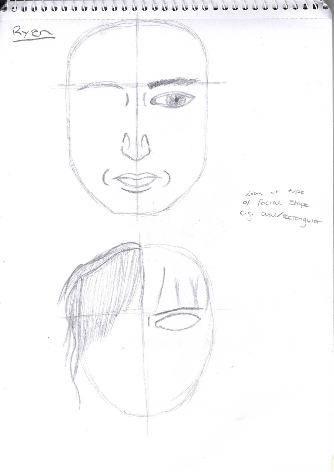 Drawing For Animation Facial Proportions Sem 1