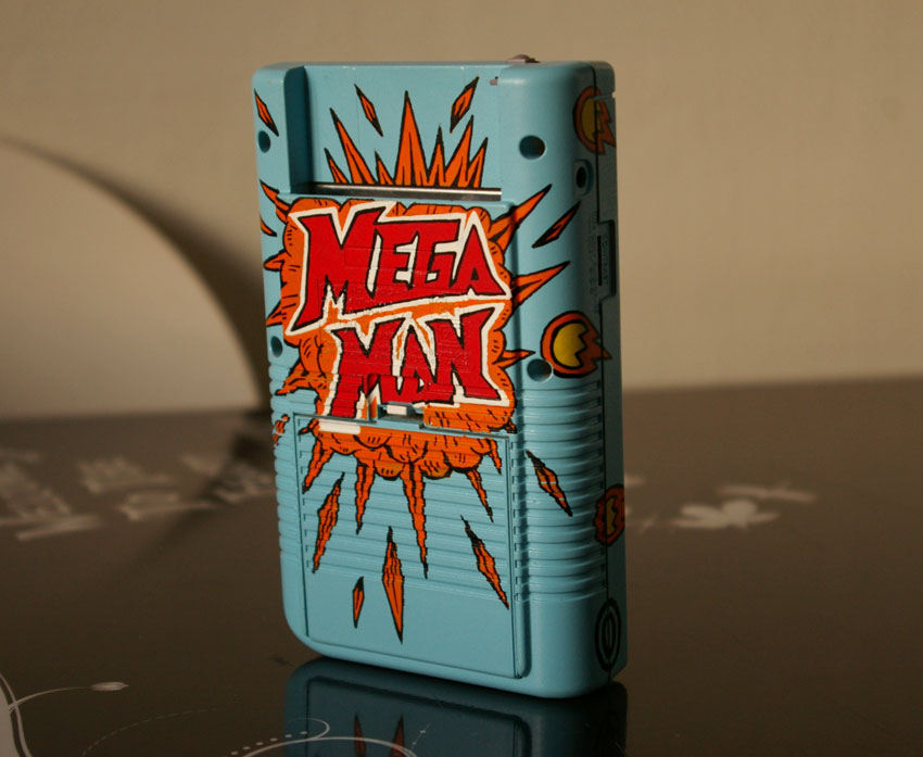 Rockman Corner: Impressive Custom Mega Man Game Boy