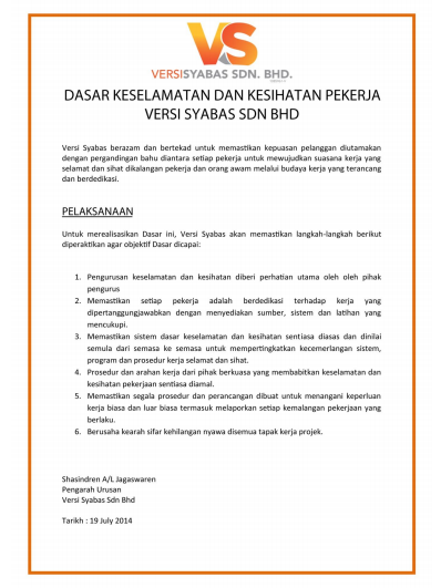 Versisyabas Sdn Bhd Kontraktor Pakar Membaiki Jalan Raya Pembinaan Budak Bandung Laici