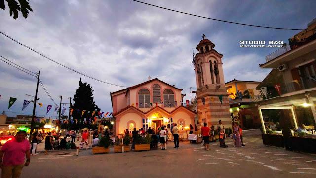 Η Εορτή των Αγίων Αδριανού και Ναταλίας στο Δρέπανο Αργολίδας (βίντεο)