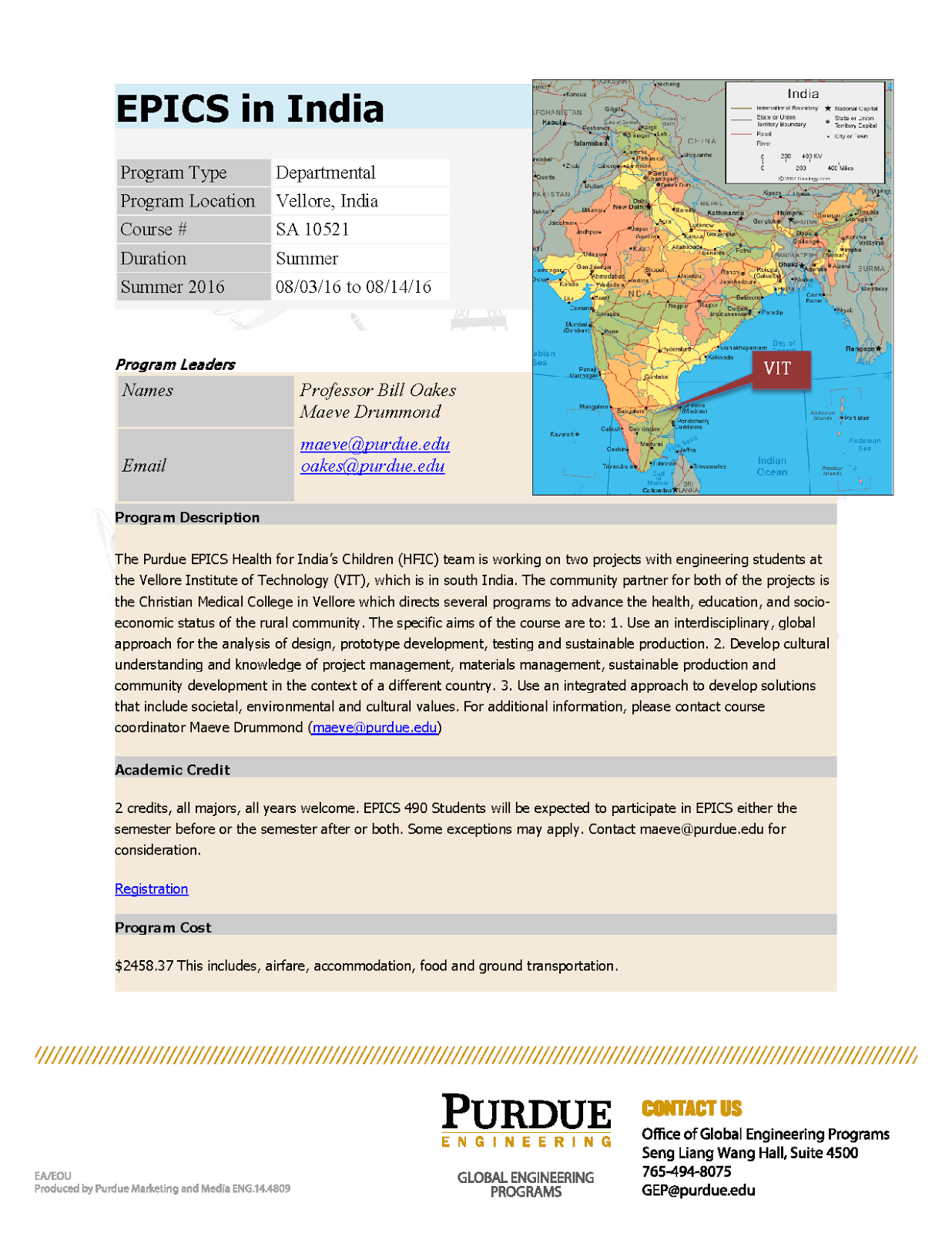 Epics In India Study Abroad August 2016 Purdue Ie Undergrad News