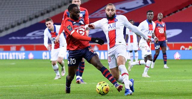 ملخص مباراة باريس سان جيرمان ونادي ليل (0-0) اليوم في الدوري الفرنسي