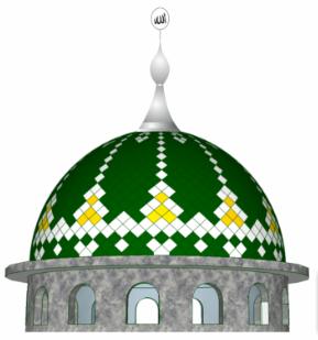 Cara Memilih Motif Kubah Masjid Yang Menarik