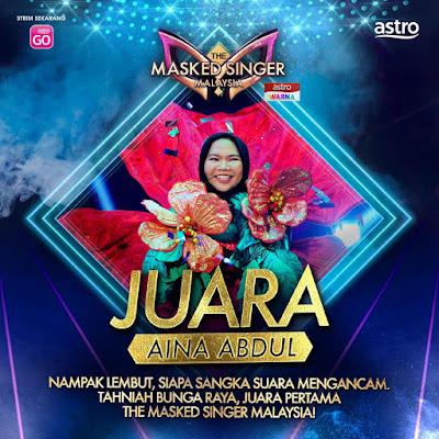 ainal abdul the masked singer malaysia