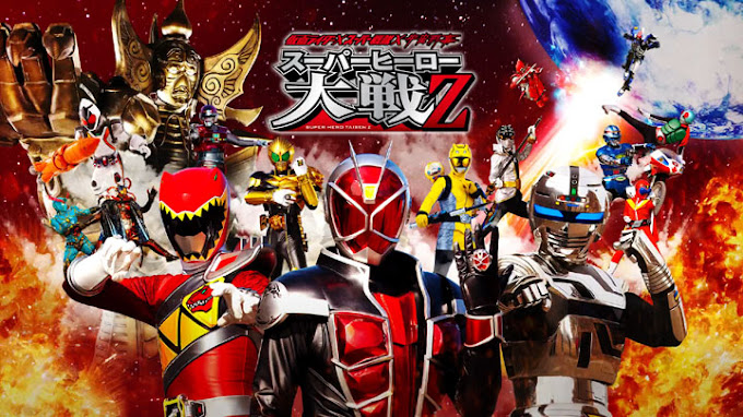 Kamen Rider × Super Sentai × Space Sheriff: Super Hero Taisen Z Subtitle Indonesia