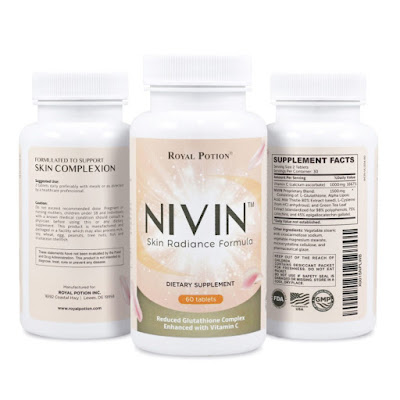 NIVIN Reduced L-Glutathione Suplemen Pemutih