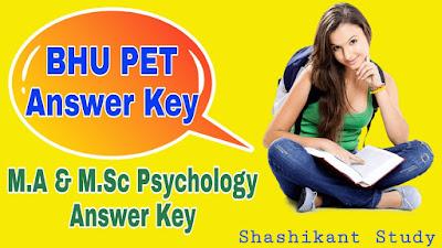 BHU-M.A-M.Sc-Psychology-Answer-Key