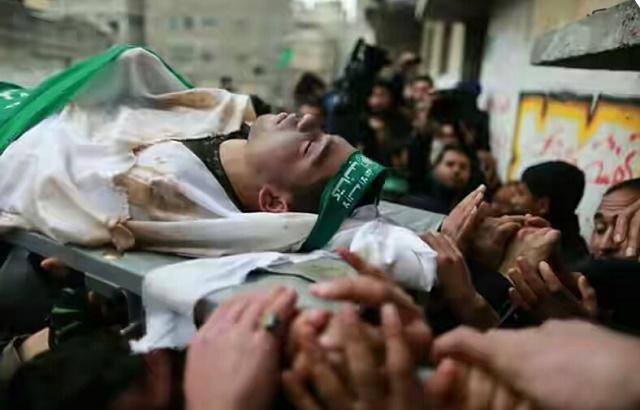 Para Pejuang Gaza Ini Gugur Dengan Telunjuk Bersyahadat