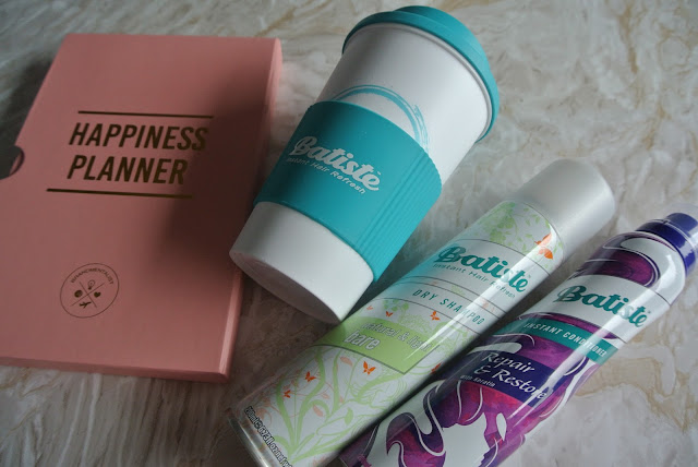 10 Tips For A Quick Morning Routine & Thinking Positively in the AM with Batiste and Happiness Planner Image