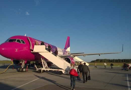 First low cost flight from Albania by WizzAir