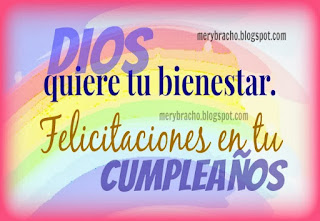 saludo mensaje cumpleaños cristiano