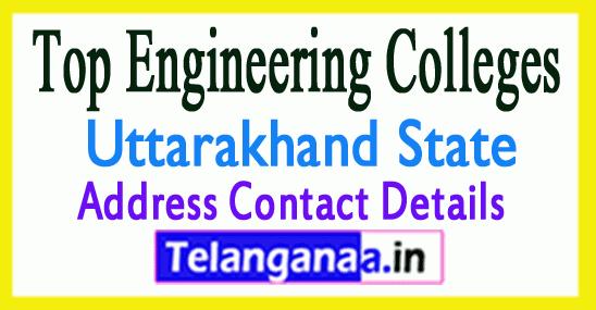 Top Engineering Colleges in Uttarakhand