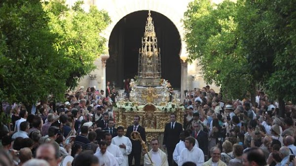 Horario e Itinerario de la Procesión del Corpus de Córdoba