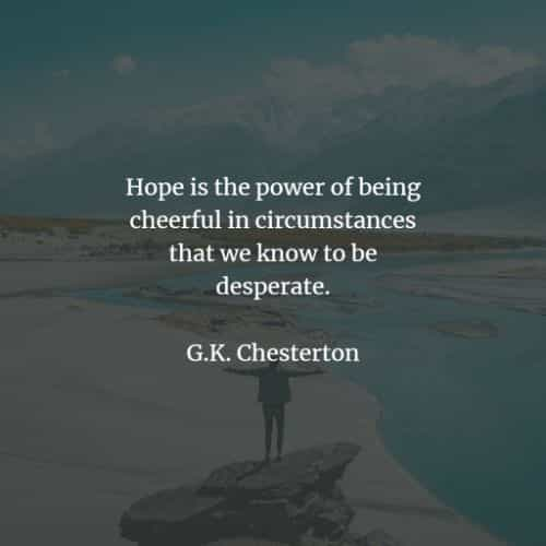 Hope quotes and sayings that will uplift your spirit