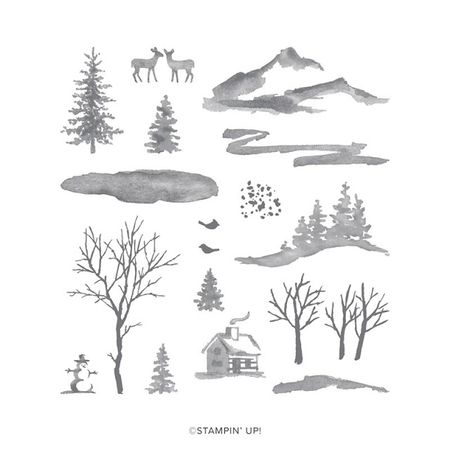 Craftyduckydoodah, Snow Front, Bridge Fold Card, Christmas 2019, Brayered Background, Stampin' Up! UK Independent Demonstrator Susan Simpson, Supplies available 24/7 from my online store,