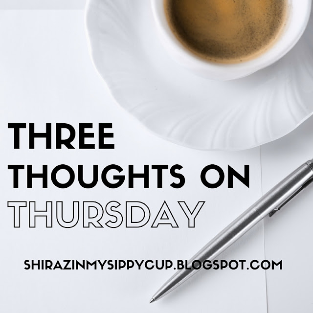 Three Thoughts on Thursday. #parenting #motherhood #kids #SAHM #workingmoms