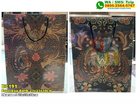 Paperbag Batik 23x23x10cm