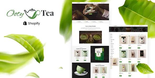 Best Organic Tea Store Shopify Theme