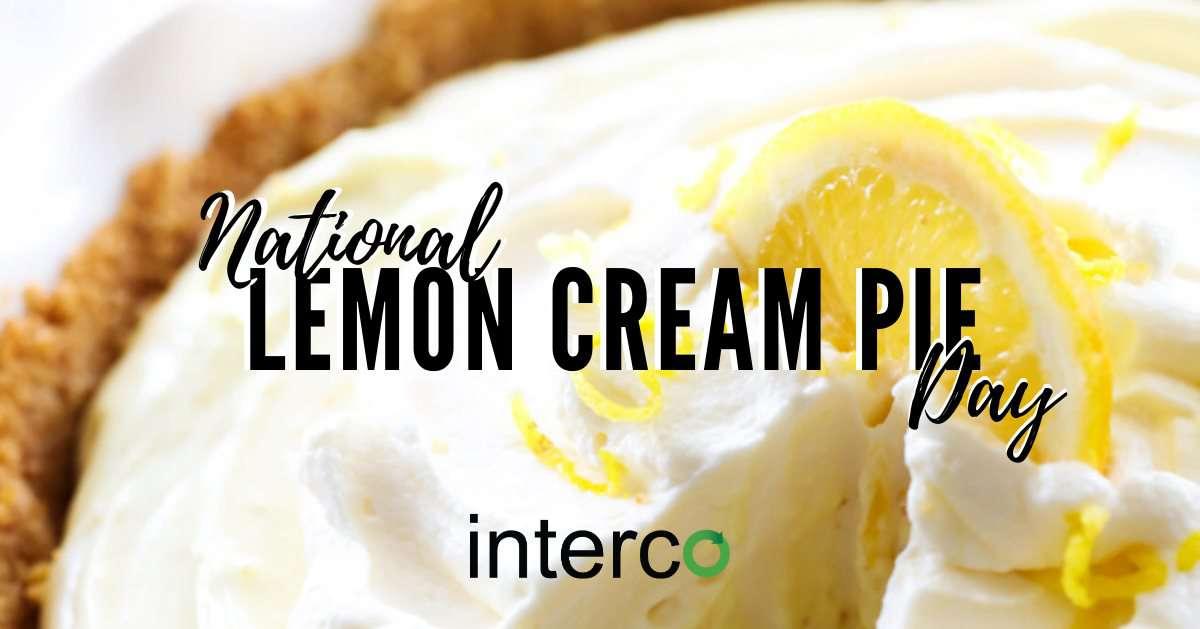 National Lemon Cream Pie Day Wishes Lovely Pics