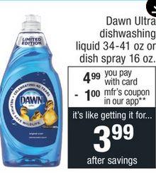 Dawn Dish Soap CVS Deal