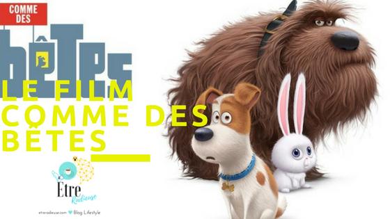 #Concours- 5 copies du film d'animation Comme Des Bêtes!