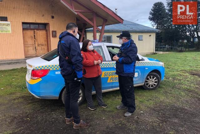 Patrullajes preventivos en localidades rurales de Osorno
