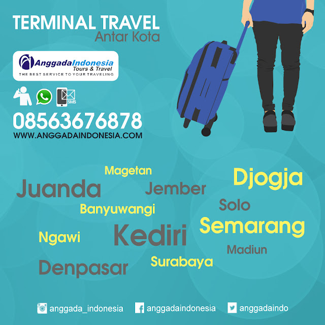 Travel Malang - Kediri - Banyuwangi - Ngawi - Jember - Solo - jogja